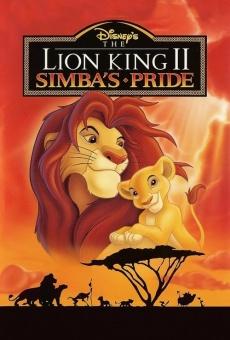 Le roi lion 2: L'honneur de la tribu en ligne gratuit