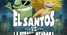 Película El Santos vs la Tetona Mendoza