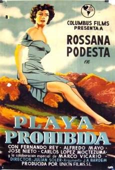 Playa prohibida online free