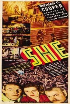 Assistir Filme A Deusa da Cidade Perdida Online - 1965