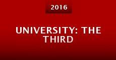 University: The Third